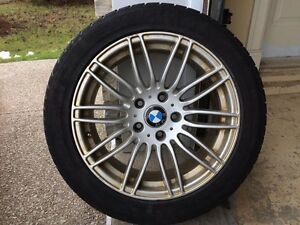 (225/50/R17)Winter tires on alloy Rims.