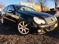 2007 Mercedes C Class C180 1.8 Kompressor **3 Kprs**FSH MOT**Prkng Snsrs Frnt&Bk**LEATHER SEATS