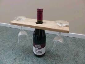Hand made glass holder