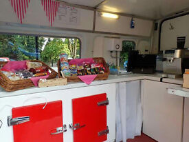 FOR SALE – VERY PROFITABLE MOBILE COFFEE VAN BUSINESS - DREAM JOB - BE BOSS FREE