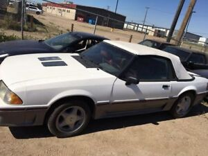 1989 Ford Mustang Convertible for sale or trade