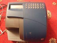 Optimail postage franking machine & spare print ribbon