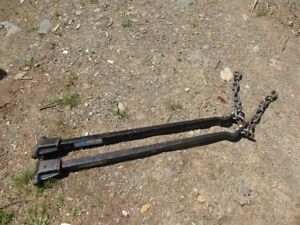 Torsion bars for trailer