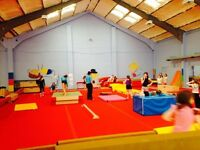 Full and Part time Gymnastics Coaches Required