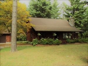 Bancroft Area - LOG HOUSE FOR RENT in Bird's Creek