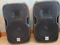 Pair of Alto TS112a active speakers.