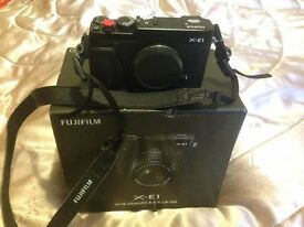 Fuji XE1 Boxed in Excellent Condition