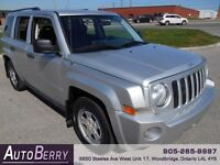 2008 Jeep Patriot SPORT 4WD *** Certified & E-Tested *** $6,499