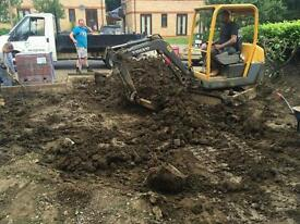 Digger and driver hire