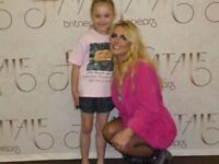 Britney Spears MEET AND GREET UPGRADE PACKAGE MANCHESTER sell or swap for London date