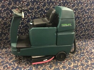Nobles Speed Scrub  Tennant T7  32  Ride On Floor Scrubber With Free Shipping