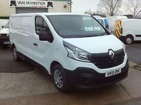 Renault Trafic LL29 lwb Business Energy 115ps DIESEL MANUAL WHITE (2015)