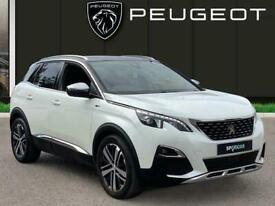 image for 2017 Peugeot 3008 SUV 2.0 Bluehdi Gt Suv 5dr Diesel Eat Auto 6spd s/s 180 Ps Est