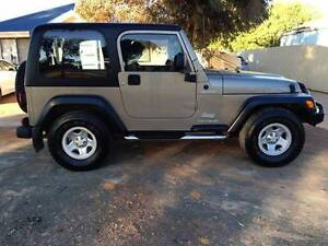 2003 Jeep Wrangler Coupe Piccadilly Kalgoorlie Area Preview