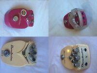 Cheap guitar pedals