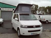 Volkswagen Transporter T28 T5 2.0tdi swb 102ps Highline Pop Up Roof WHITE (2014)