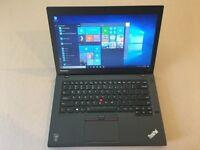 Lenovo Thinkpad UltraBook T450 laptop 8gb ram 240gb SSD Intel Core i5 5th gen CPU