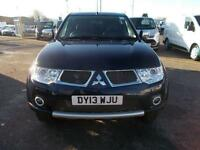 Mitsubishi L200 Barbarian Di-D 176PS Double Cab 4x4 DIESEL AUTOMATIC BLUE (2013)