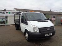 Ford Transit T350 MWB TIPPER TDCI 100PS DIESEL MANUAL WHITE (2014)