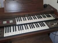 Double Keyboard Electric Organ.