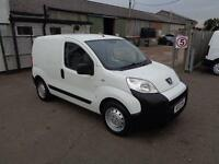 Peugeot Bipper 1.3 Hdi 75 S [Non Start/Stop] Air Con DIESEL MANUAL WHITE (2013)