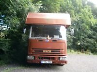 Iveco 7.5t Horse Box - Project