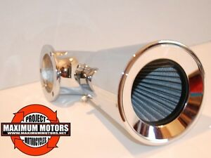 FUNNEL HIGH FLOW AIR CLEANER BREATHER FOR HARLEY EVO & TWIN CAM MODELS