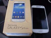 Samsung galaxy s4 mini,used on virgin network.