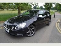 VOLVO V60 1.6 DRIVE RDESIGN,3M GOLD WARRANTY,DIESEL,MANUAL,11M MOT,BLACK