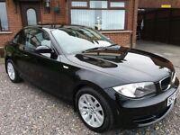 BMW 120D SPORT COUPE DIESEL (BLACK)
