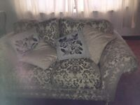 3 Piece Suite 2 seater settee and 2 armchairs