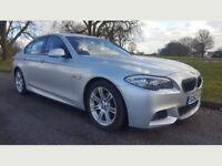 2013 62 BMW 5 Series 2.0 520d M Sport Auto 4dr ** FBMWSH, 1 OWNER, STUNNING CAR **