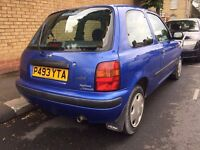 NISSAN MICRA AUTOMATIC BLUE 1995 EXCELLENT ORIGINAL CONDITION