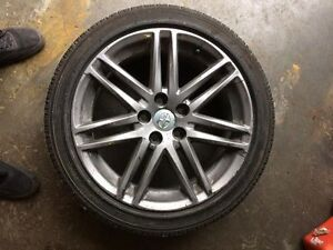 "scion tc 18"" rims 5x114.3 yokahama avid s34 stock"
