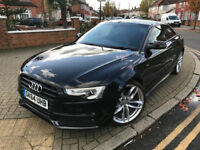 2014 (64) AUDI A5 2.0 TDI AUTOMATIC BLACK EDITION COUPE MULTITRONIC 2 DOOR 6 MONTHS WARRANTY