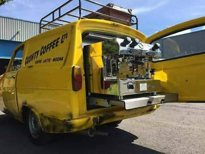 Mobile coffee van Only Fools and Horses Del boy van Reliant Regal