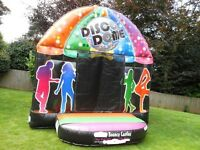 Beetee commercial disco dome bouncy castle Bee Tee Inflatable