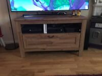 Wooden Television Stand.