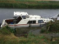 Buckingham 20ft project boat/river cruiser