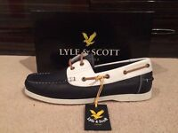 Men's Lyle and Scott Brand New Boat Shoe Size 10