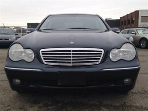 2002 MERCEDES BENZ C320 low Km's - heated seats