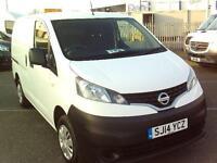 Nissan Nv200 1.5 DCI SE 89BHP VAN DIESEL MANUAL WHITE (2014)