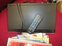 Toshiba DVD player with 9+ DVD's