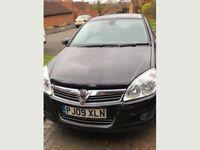 Vauxhall Astra Elite 1.6 Petrol, 12 Months MOT.Full black leather Heated Seats