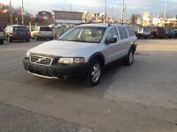 2003 Volvo XC70 AWD,2.5T,safety e/t+24month warranty included
