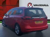 2017 Vauxhall Zafira 1.4i Turbo Sri Nav Tourer 5dr Petrol Auto 140 Ps MPV PETROL