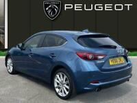 2016 Mazda Mazda3 2.2 Skyactiv D Sport Nav Hatchback 5dr Diesel s/s 150 Ps Hatch