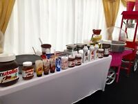 Jazzy Scrumptious Parties Mobile Creperie - Waffle - Popcorn - Crepe Chef - Candy Cart London Essex