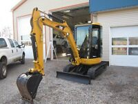 FOR SALE 303 CCR EXCAVATOR WITH THUMB!!!