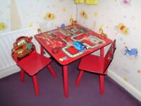 Kids wooden table set for sale